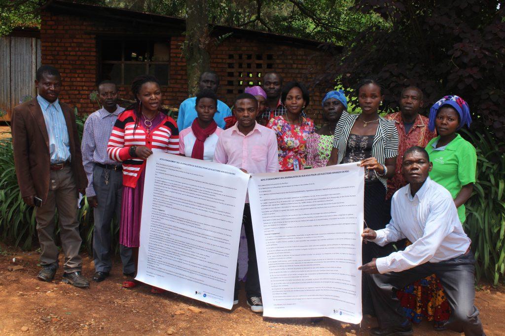 Walungu: Formation sur la couverture électorale et journalisme sensible aux conflits