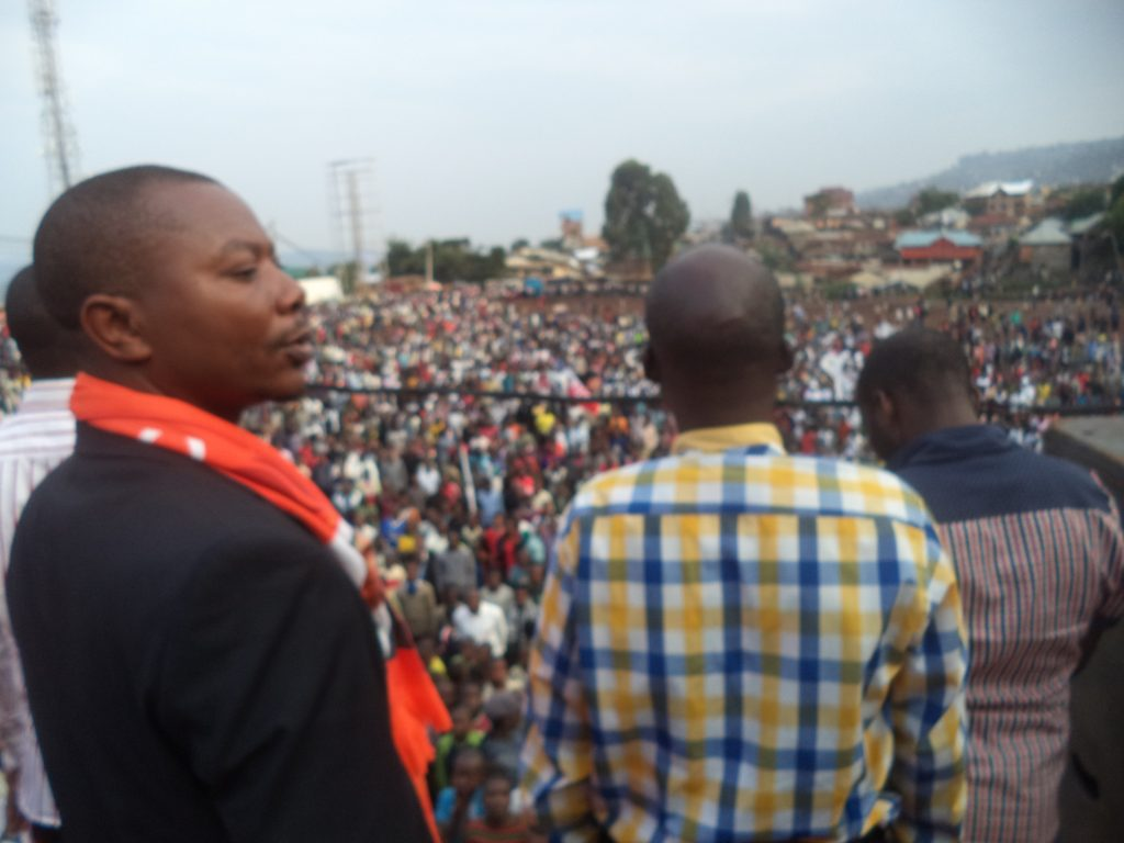 Bukavu : Le Rassemblement de l'opposition organise un meeting ce 19 novembre  à la place Major Vangu