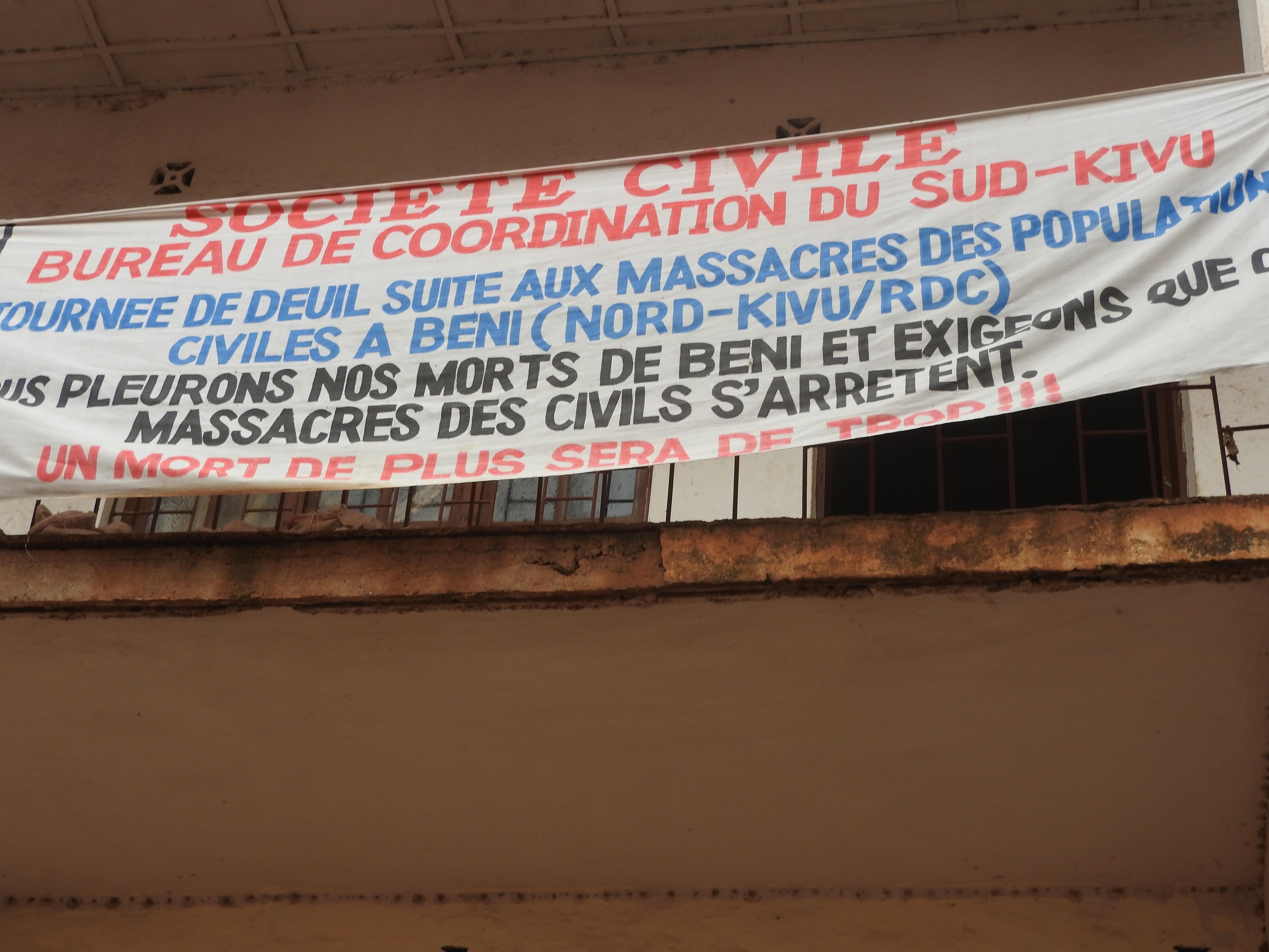 Bukavu : La société civile se réjouit de la nomination d'un nouveau premier ministre