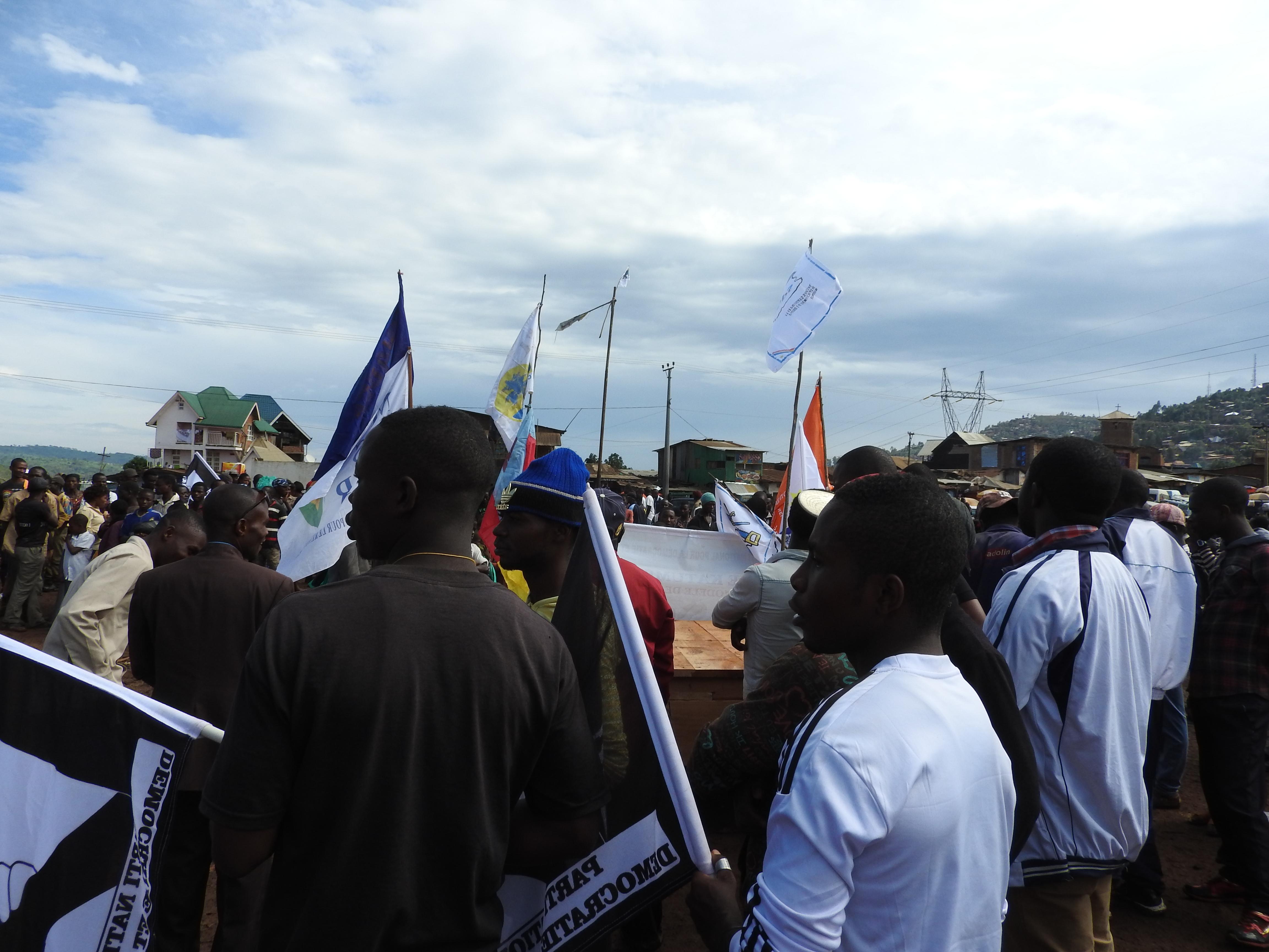 Bukavu: Le meeting du Rassemblement vient de se clôturer sans incident