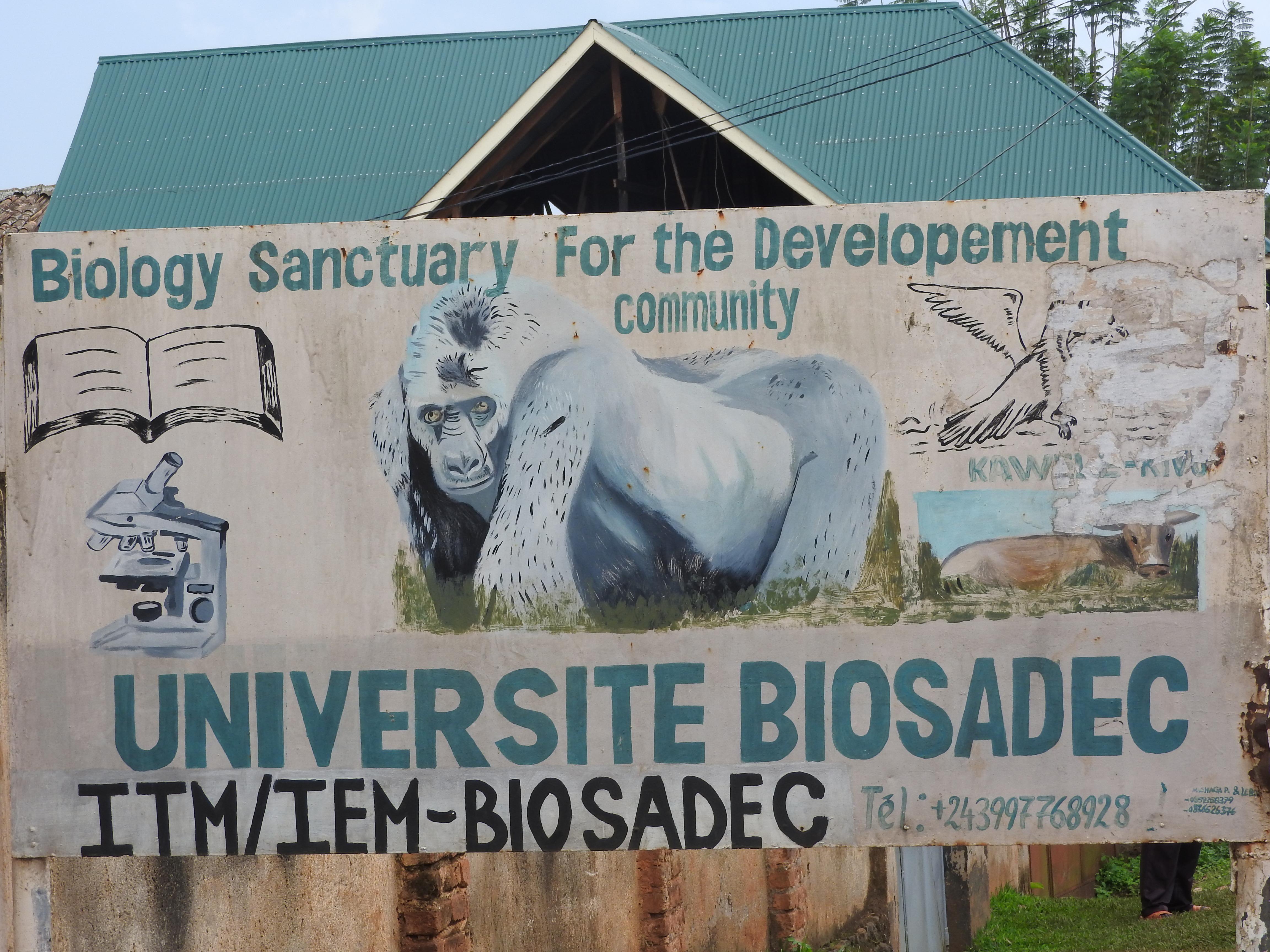 Fermeture des universités à Bukavu: Des étudiants de BIOSADEC en colère