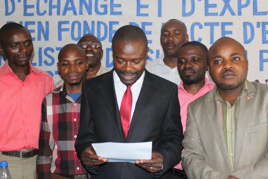 «L'UNC n'a pas encore décidé de sa participation ou pas dans le prochain gouvernement», affirme Me Alfred Maisha