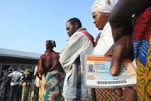 Walungu : Séance de sensibilisation de la population sur l'enrôlement des électeurs.