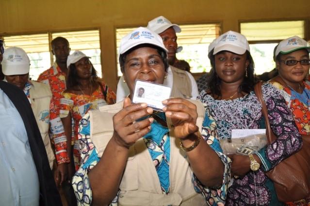 CENI : lancement de l'opération d'enrôlement et identification des électeurs à Walungu