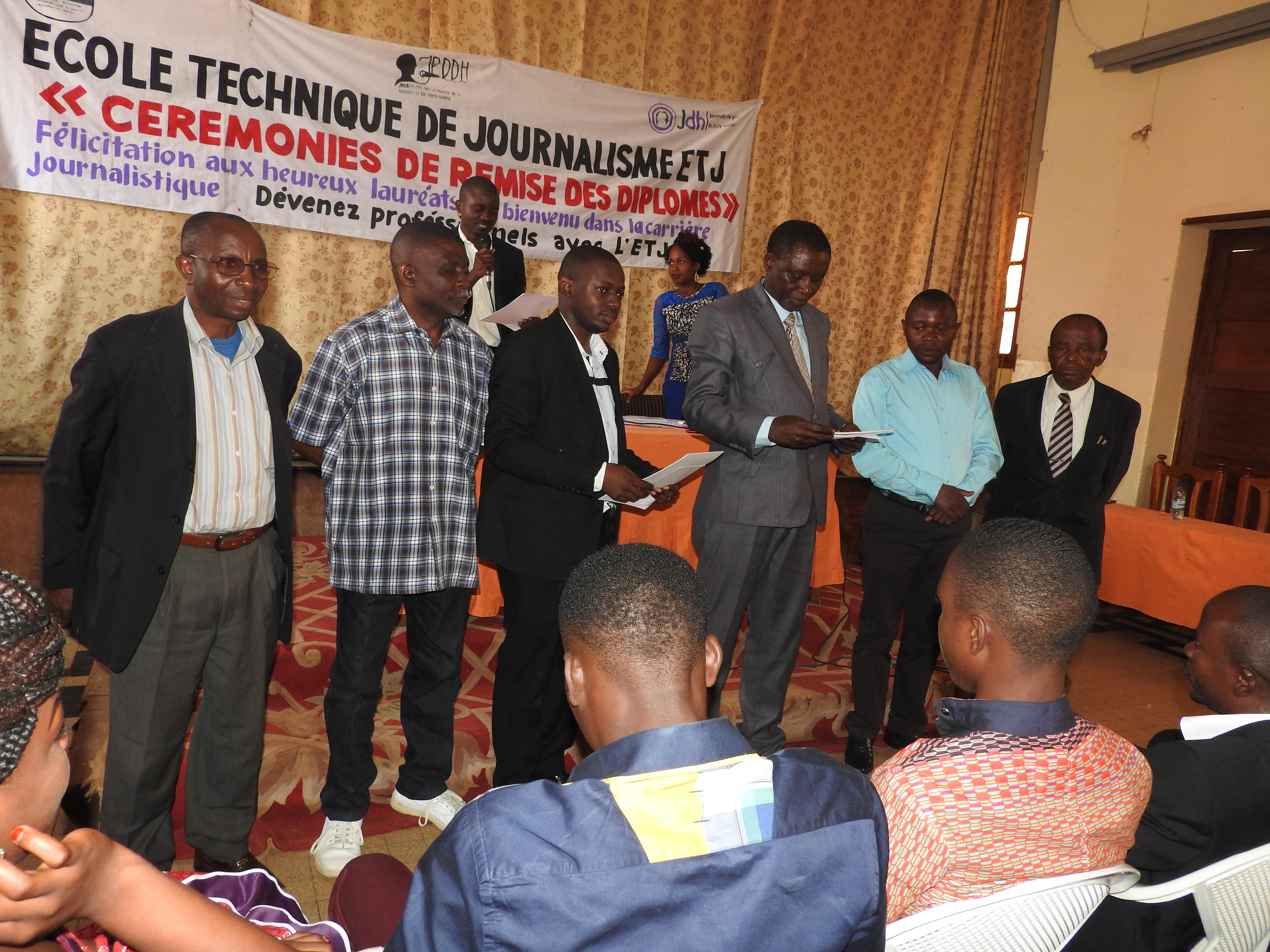 ETJ : Remise des diplômes aux lauréats, la communauté s'en réjouit