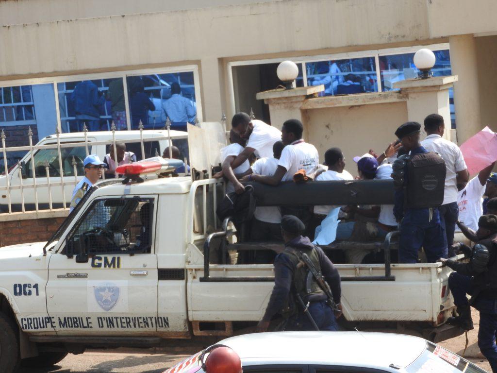 Bukavu : Des militants de la LUCHA et FILIMBI arrêtés