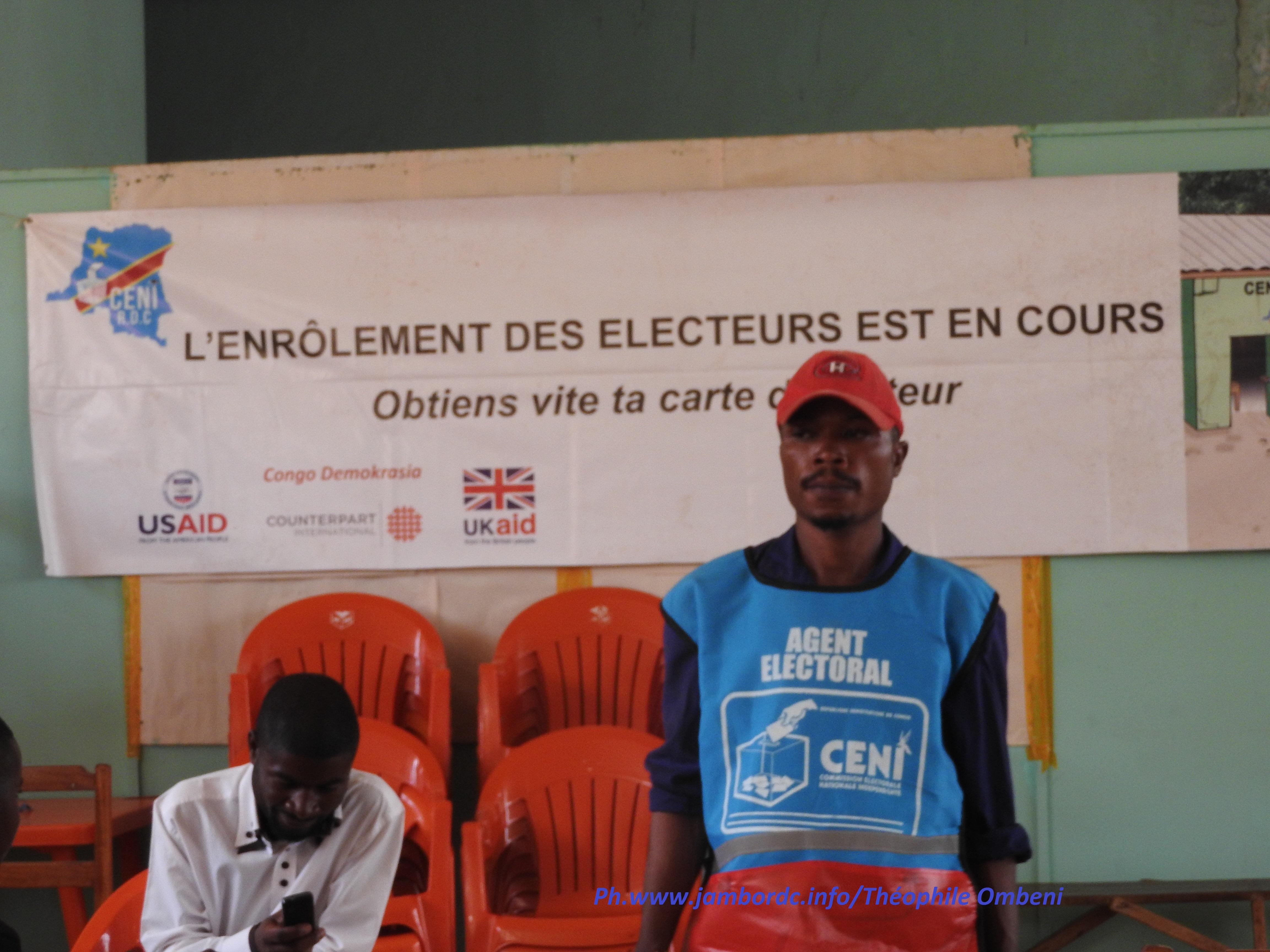 CENI : il y a des kits suffisants pour l'enrôlement des électeurs au Sud Kivu