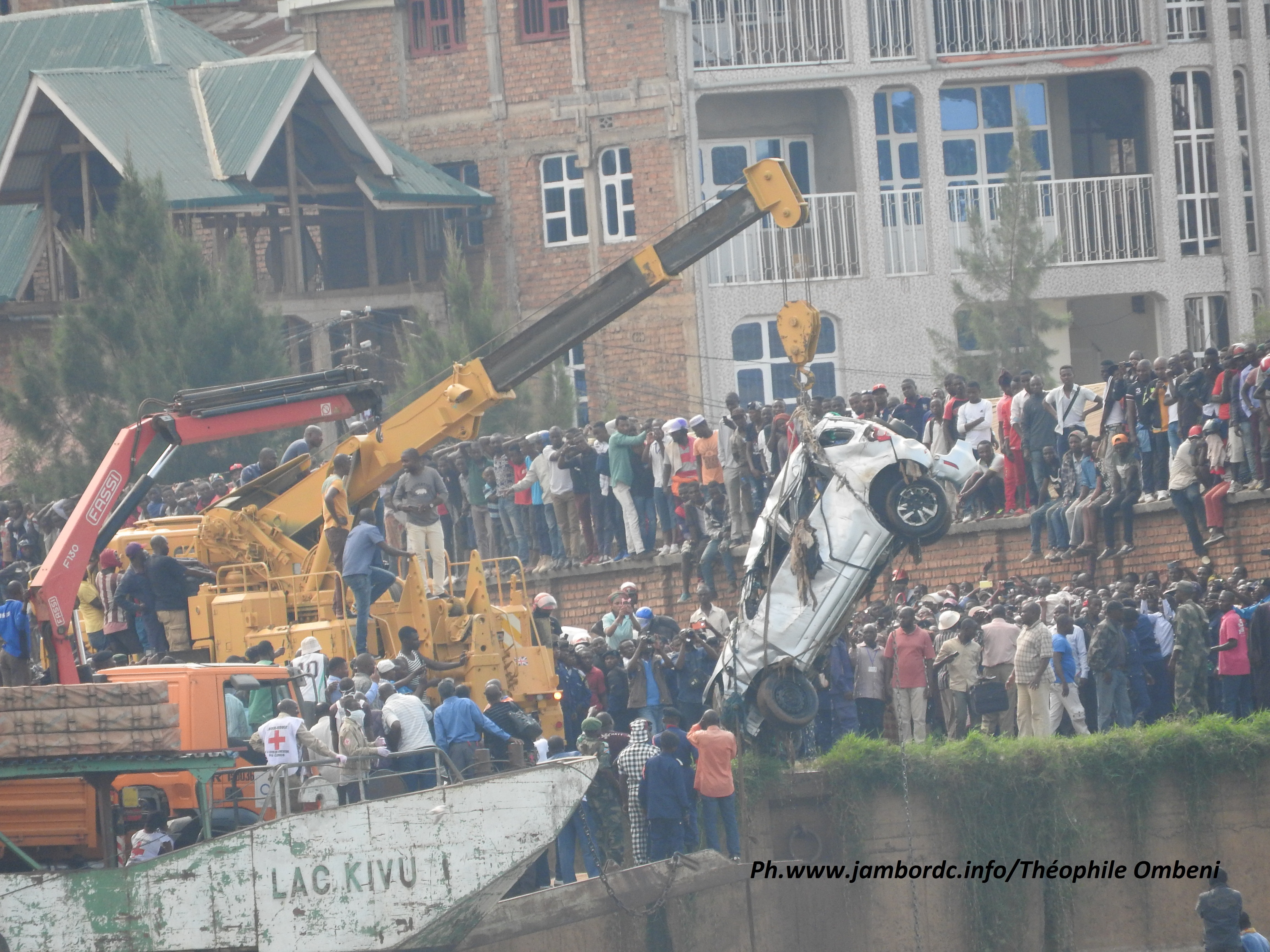 Bukavu : le corps de Me Furaha en fin retiré des eaux du lac Kivu