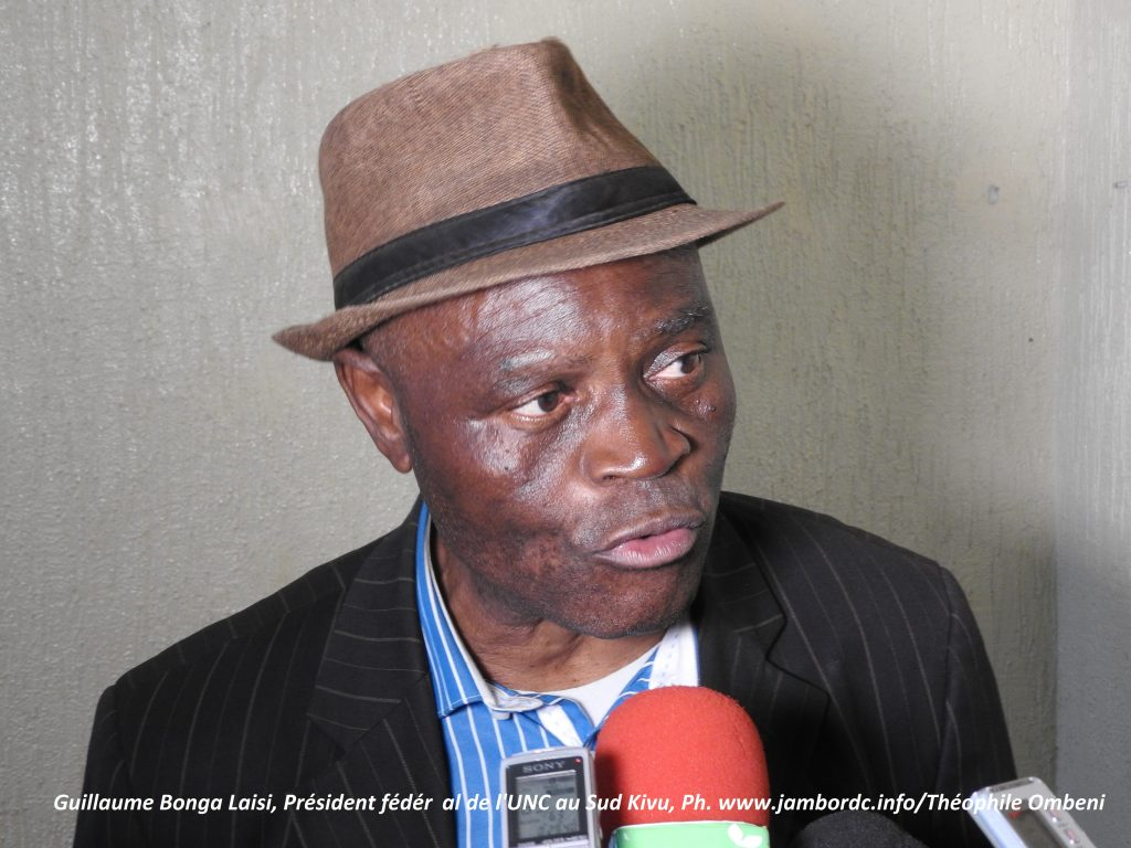 Bukavu : l'UNC sensibilise la population du Sud Kivu sur l'opération d'enrôlement et identification  des électeurs