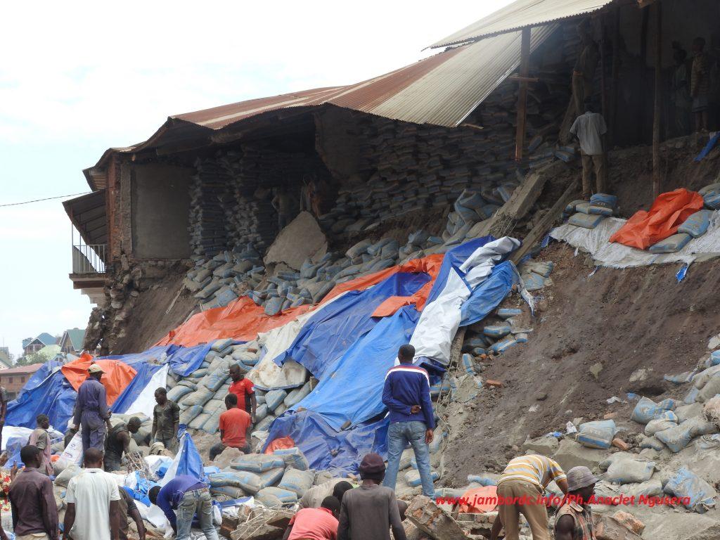 Bukavu : les mauvaises constructions font encore parler d'elles