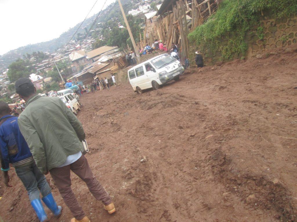 Bukavu : Délabrement avancé de quelques routes dans la commune de Kadutu
