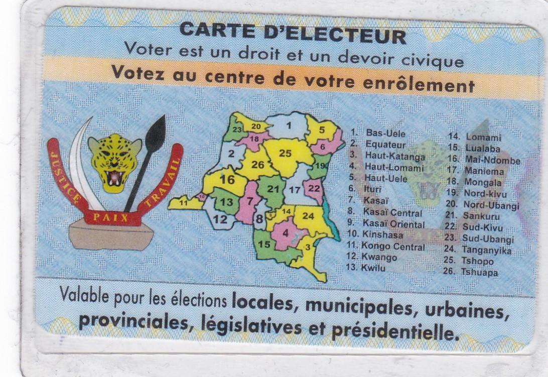 CENI: l'insuffisance des cartes blanches ralentit le processus d'enrôlement des électeurs à Bukavu