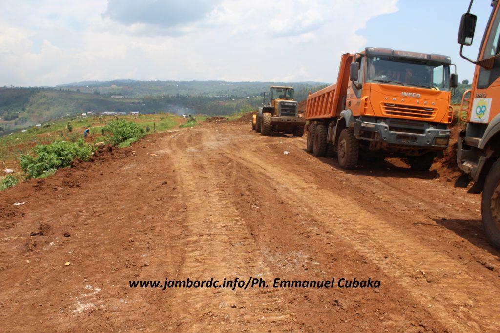 Bukavu : réhabilitation du tronçon routier Nyawera-cimetière de Ruzizi, un ouf de soulagement selon la population