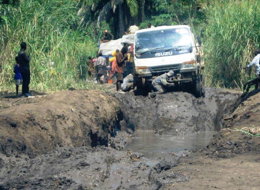 Sud Kivu : le délabrement de la route Miti-Bunyakiri, un morceau dur pour les usagers