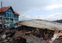Bukavu : des maisons en planches détruites sur avenue Vamaro