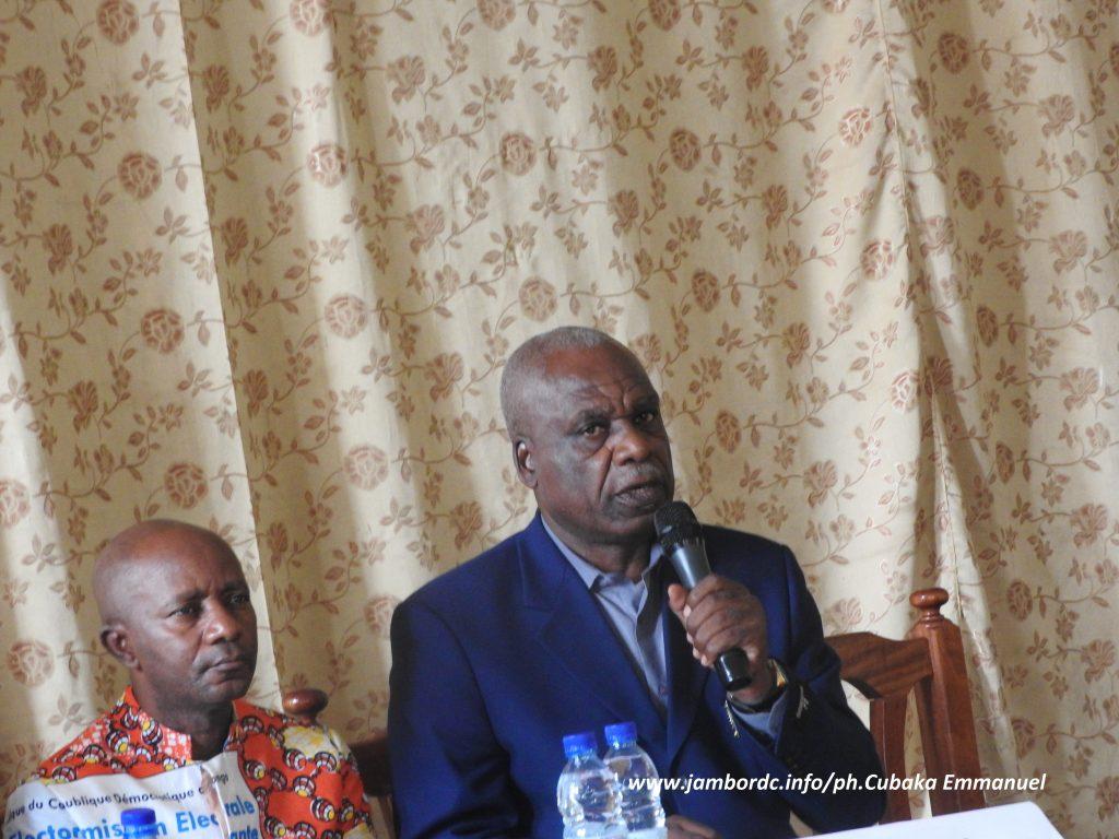 Bukavu: La Ceni fait le point sur la sécurisation du processus électoral