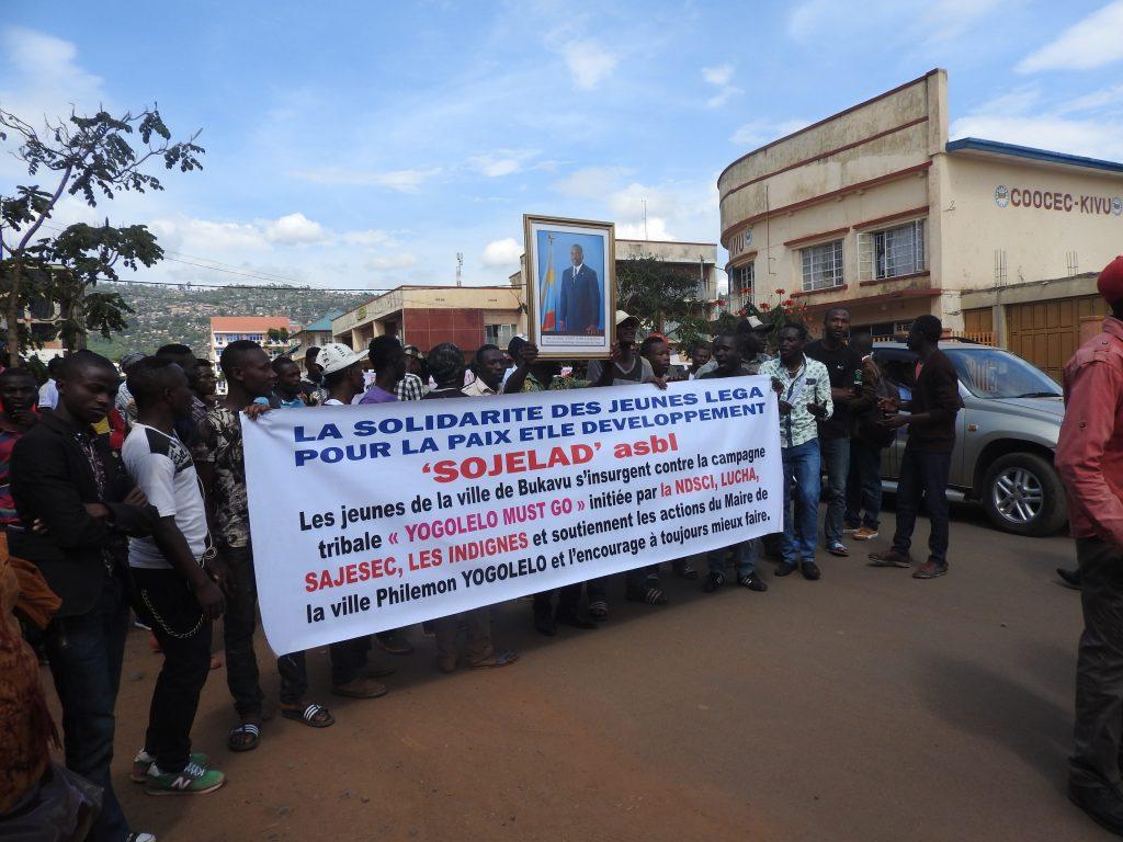 Une marche de soutien au Maire de la ville  ce mercredi 29 mars à Bukavu
