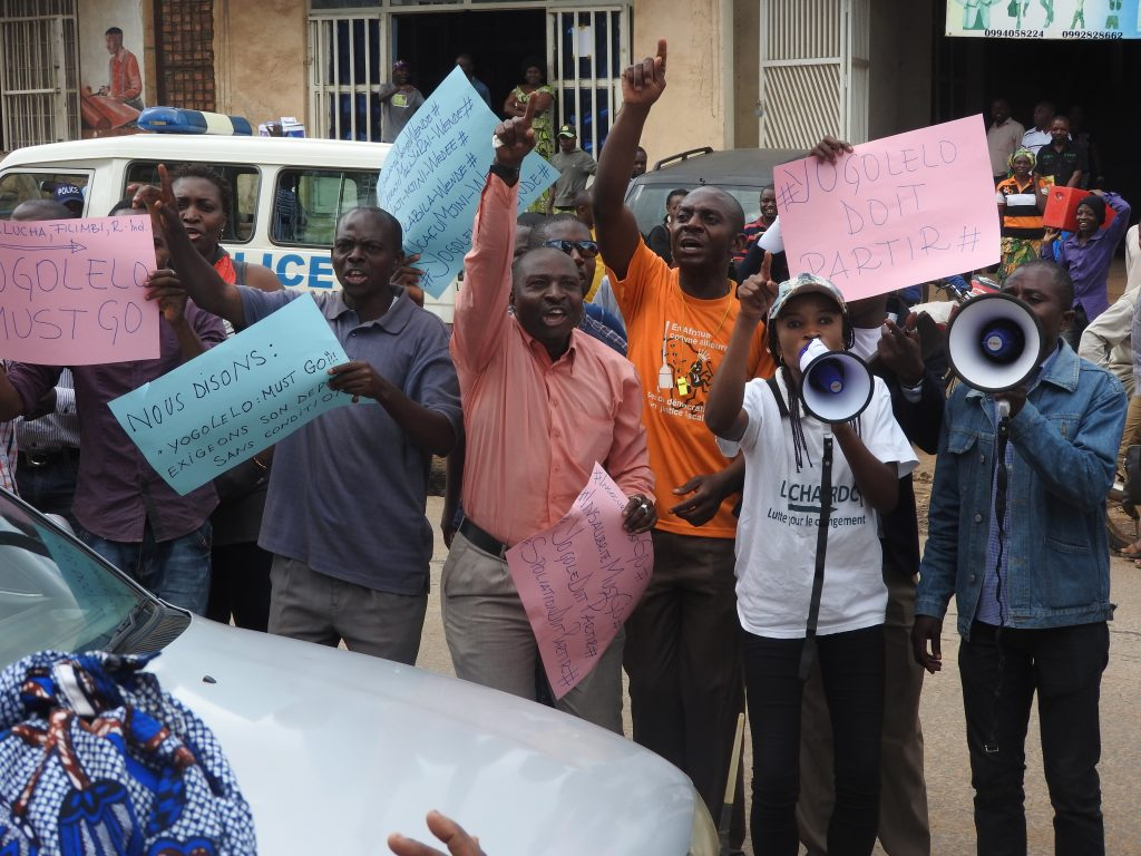 Bukavu : Des mouvements sociaux ont remis leur pétition contre le Maire ce mercredi 29 mars