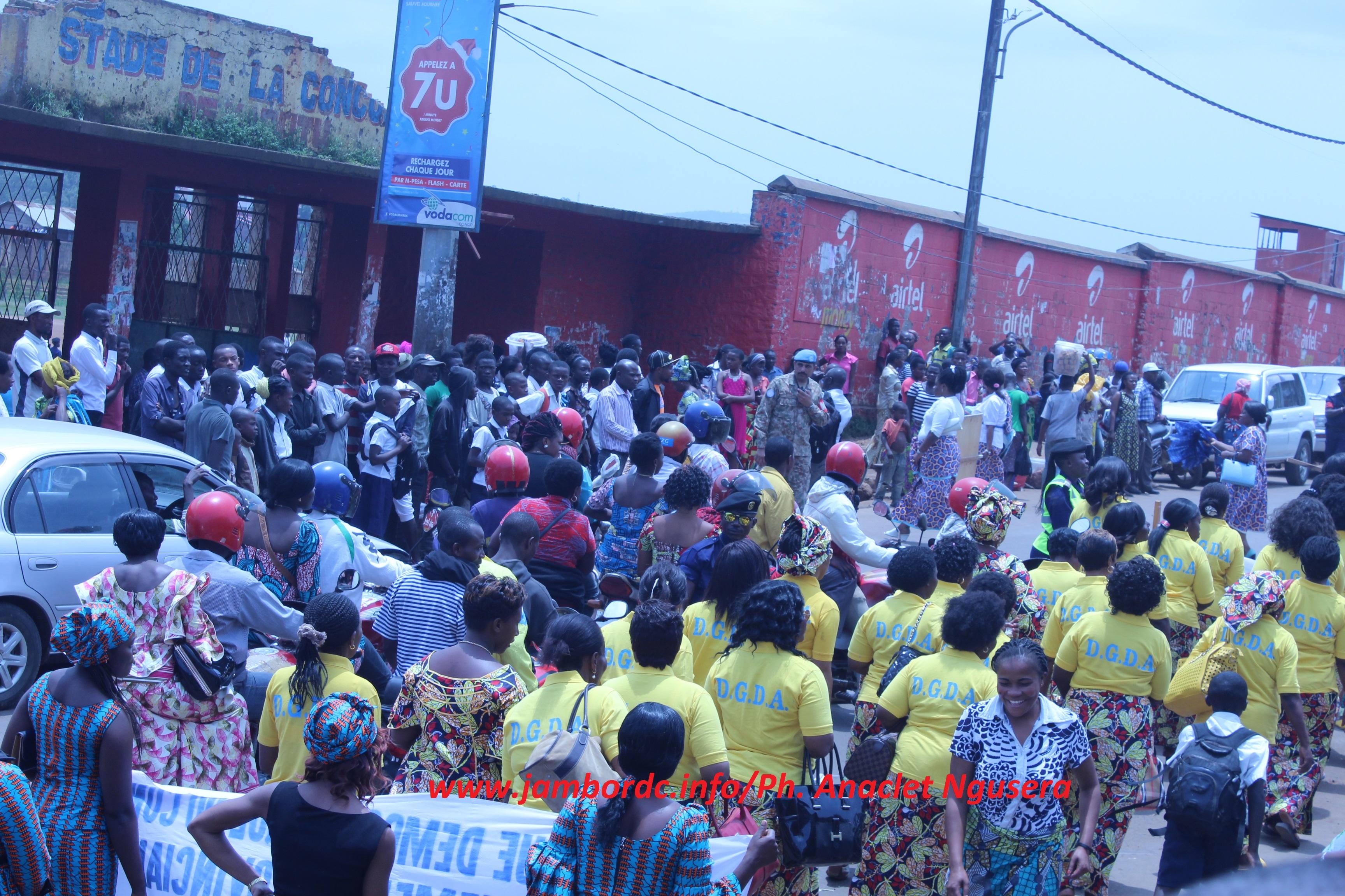 Spécial 8 mars : des femmes ont fait vibrer le stade de la concorde de Kadutu