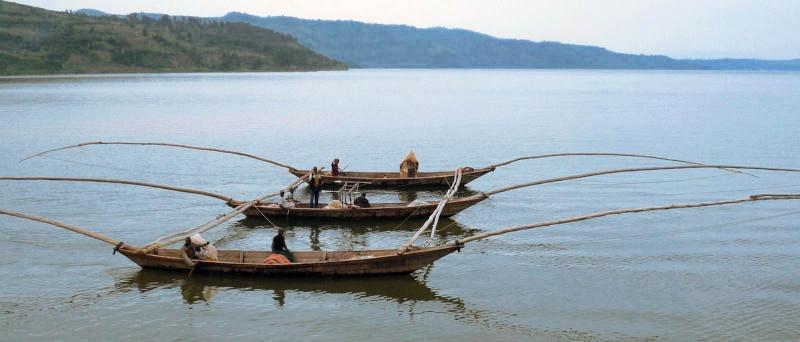 Kalehe : Une personne disparue et une autre rescapée pendant la pêche sur le lac Kivu
