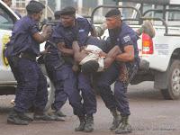 Urgent : Un policier tue son collègue à Kamanyola