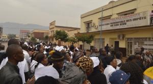 Bukavu : Sit-in des  agents nouvelles unités de la DGI, ils réclament leur salaire
