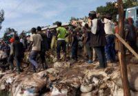 Tensions au marché Beach Muhanzi : Plusieurs personnes blessés, interpellées et des pertes des marchandises enregistrées