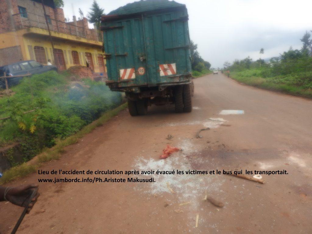Bukavu : 7 morts et plusieurs blessés dans un accident de circulation à Bagira sur le tronçon routier Place de l'indépendance-Mudaka