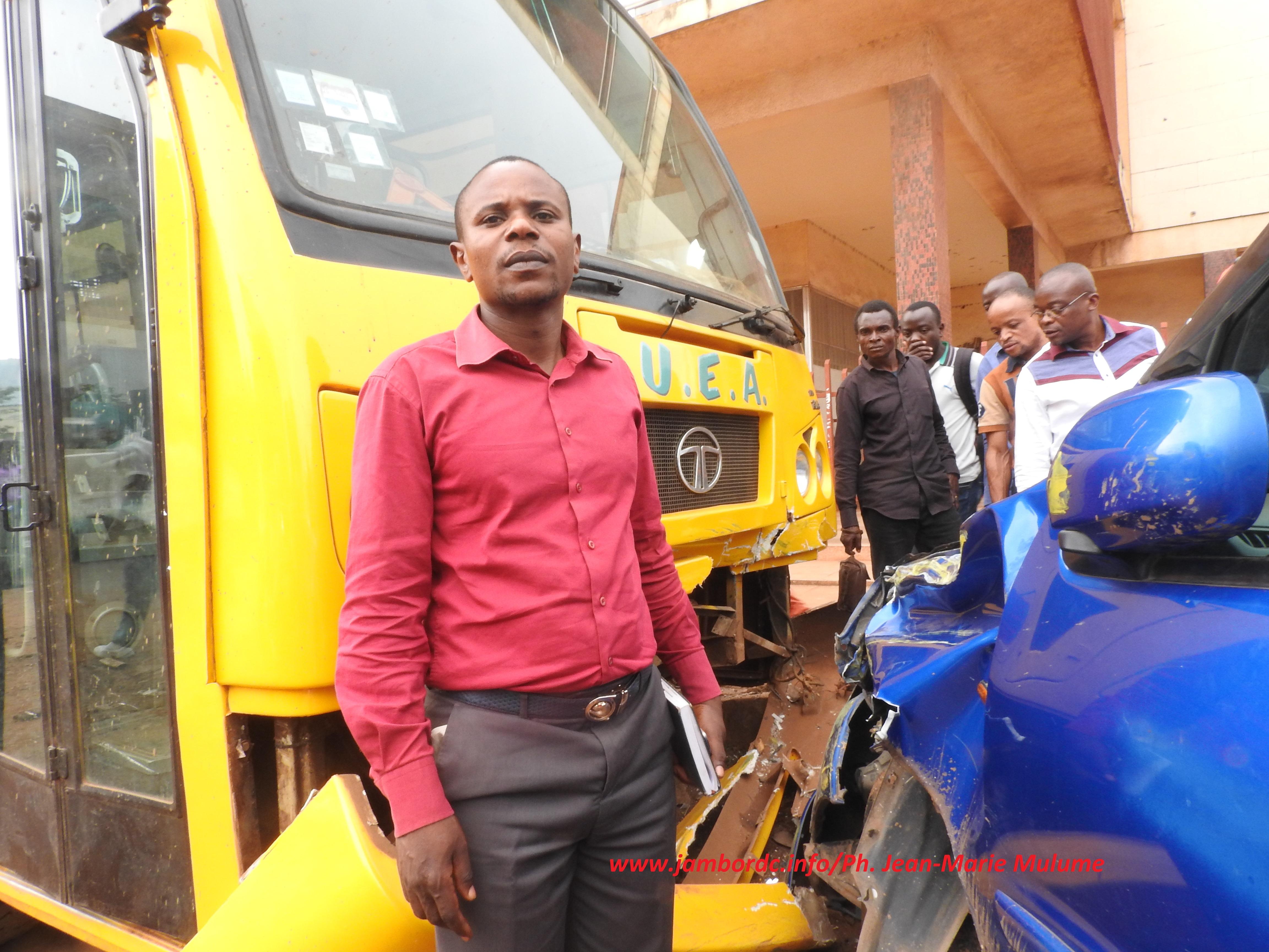 Bukavu : 3 véhicules endommagés dans un accident de circulation ce lundi 6 mars