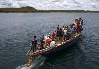 Un mort et  neuf rescapés dans un naufrage d'un boat sur le lac Kivu