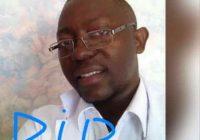 Uvira: Assassinat de Dr Gildo Byamungu, médecin directeur de l'hôpital de Kasenga
