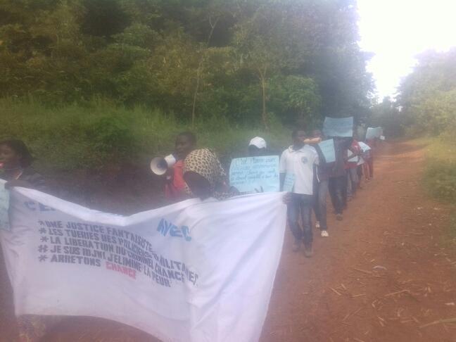 Insécurité à djwi : La Société civile en sit-in devant la chefferie Ntambuka