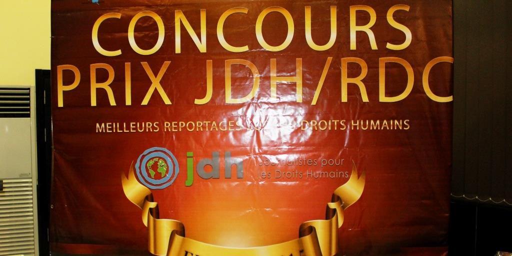 Lancement du Prix JDH RDC 2017 : Les candidatures seront réceptionnées jusqu'au 21 avril 2017