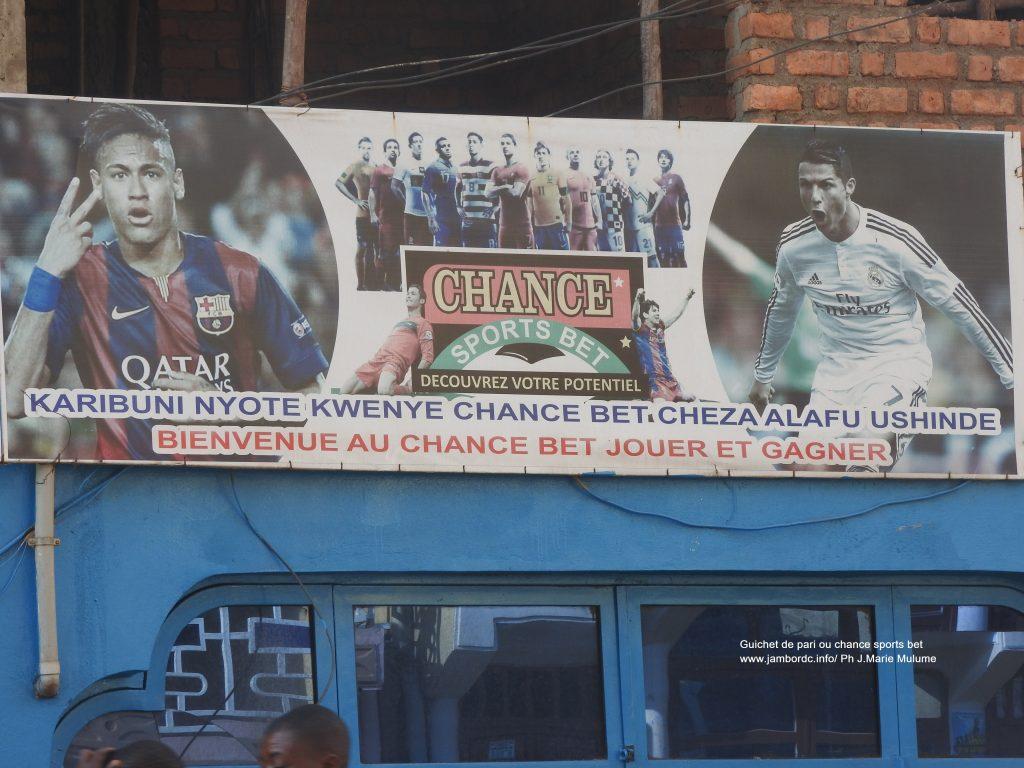 Le pari foot (Chance sports bet) : Un gain pour les familles à Bukavu ?
