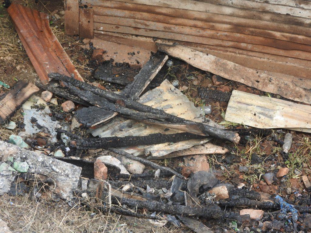 Incendie à Kadutu : Une vingtaine des maisons  consumées