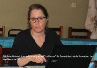 Michèle Ouimet (journal canadien La Presse) : L'ETJ est une organisation bien rôdée, efficace et pleine de ressources