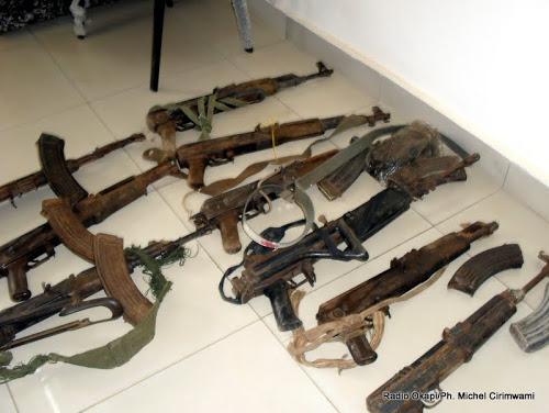 Bukavu : Des munitions dénichées au quartier Panzi