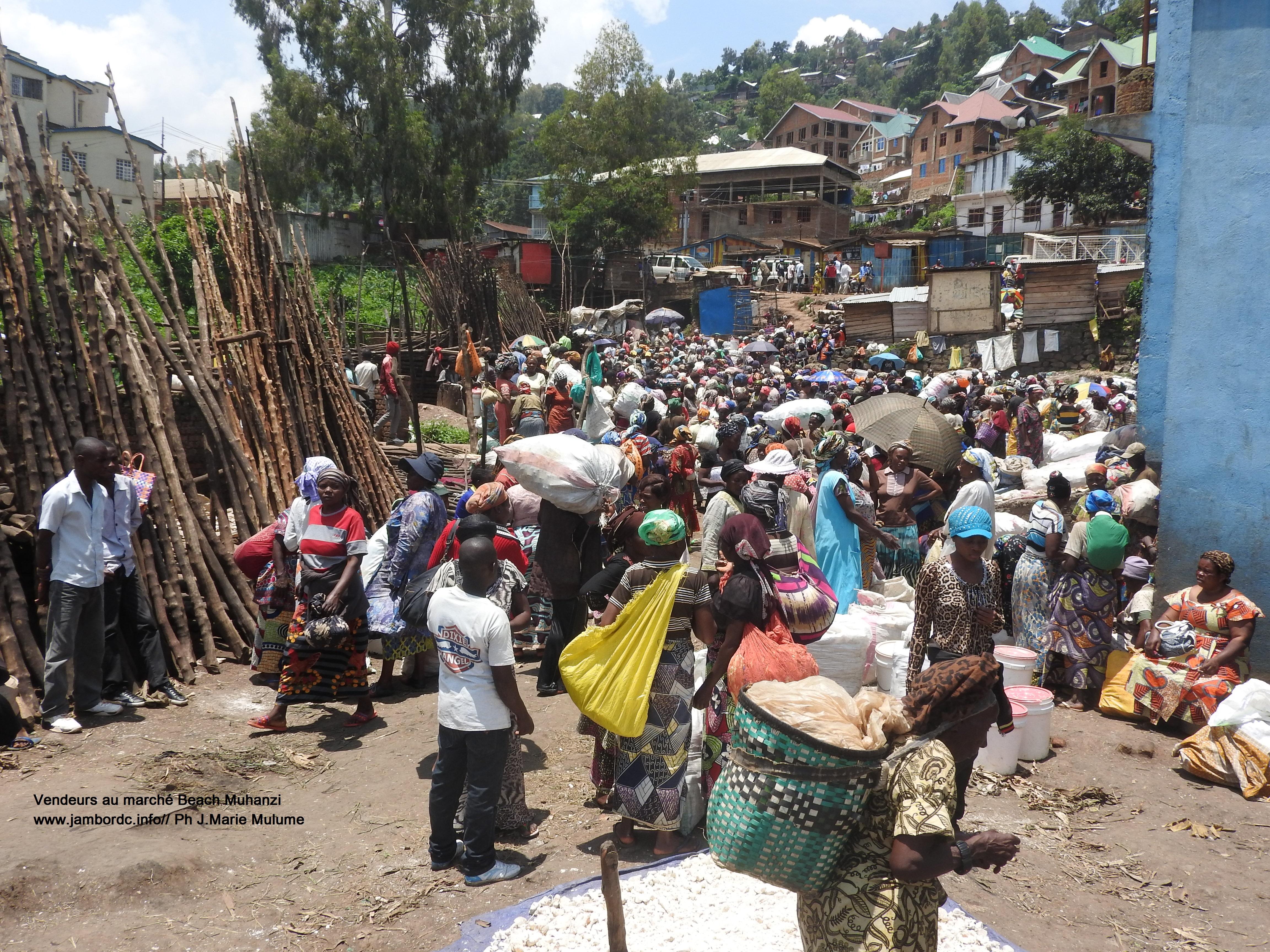 Marché Beach Muhanzi : Les vendeurs exigent la fermeture du « Nganda » chez Jérôme