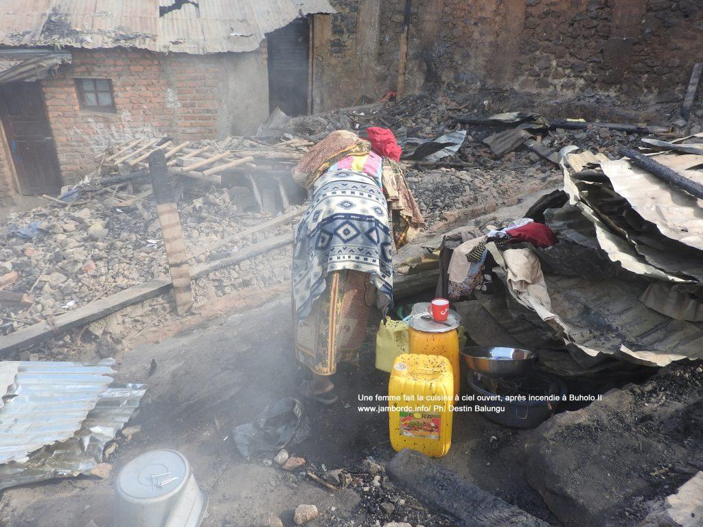Incendie à Buholo II : Les victimes en situation d'urgence