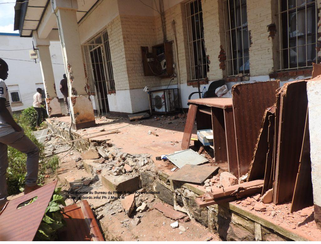 Bukavu : Le bâtiment abritant le PNMLS aurait été vendu à un particulier