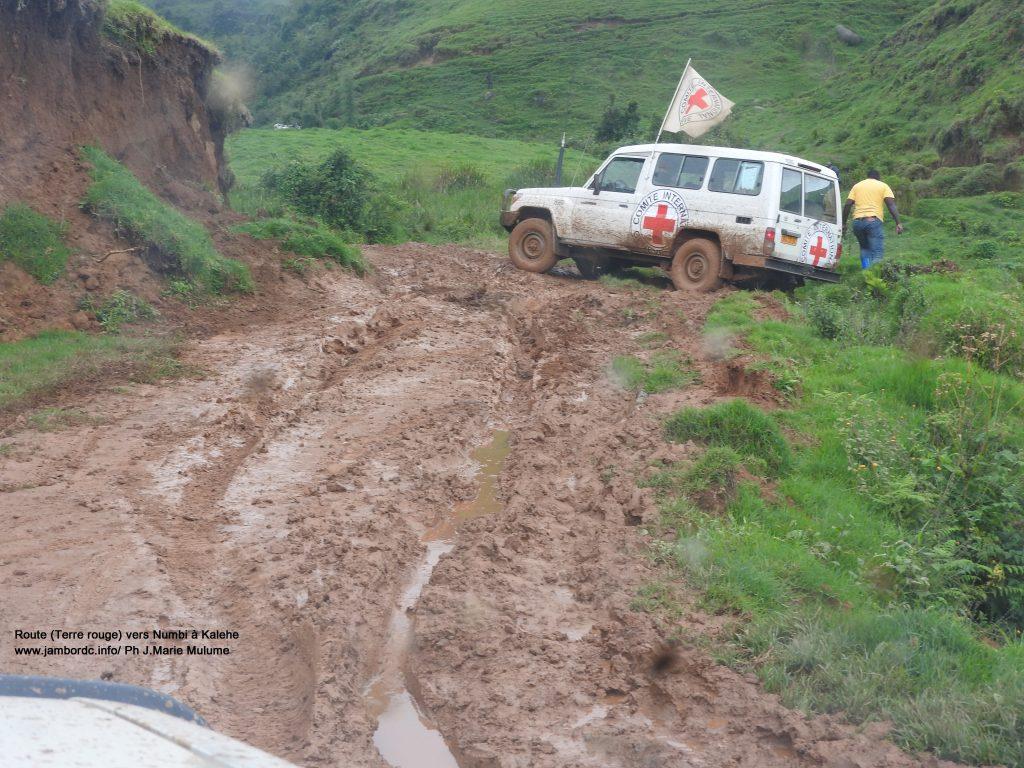 Kalehe : L'état de la route Minova-Numbi en délabrement très avancé