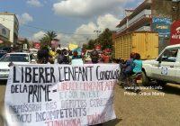 Bukavu : Les parents d'élèves du Sud Kivu réclament le départ du député Jonas Mukambilwa