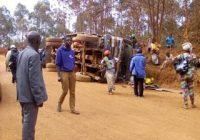 Walungu : 3 morts et des blessés dans un accident de circulation sur la route nationale n° 2