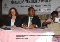Bukavu : Près de 160 étudiants édifiés en Droit International Humanitaire