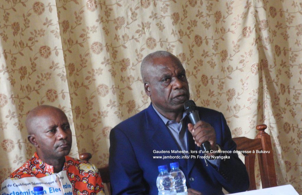 Gaudens Maheshe: «Les candidats éligibles sont ceux-là qui ne sont pas privés de leurs droits civils par la justice, les personnes non condamnées par la justice.»