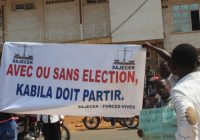 Sud-Kivu : « Avec ou sans élections, Kabila doit partir »