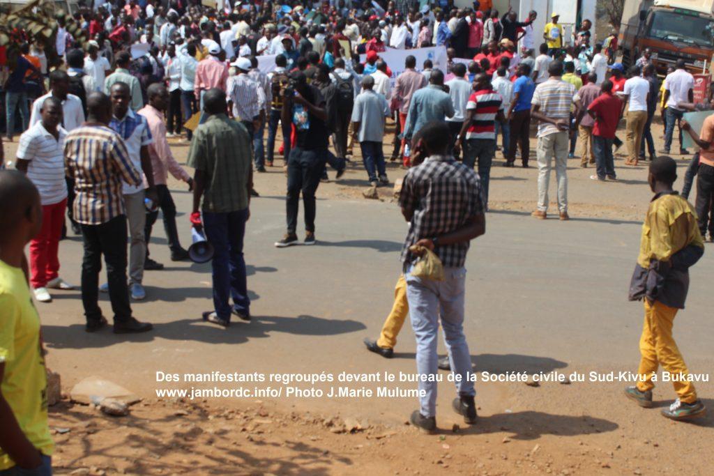 Bukavu : « Le Maire de la ville était informé de notre marche » (Me Patient Bashombe)