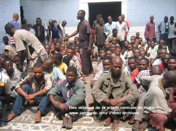 Sud-Kivu : Evasion à la prison centrale de Bukavu