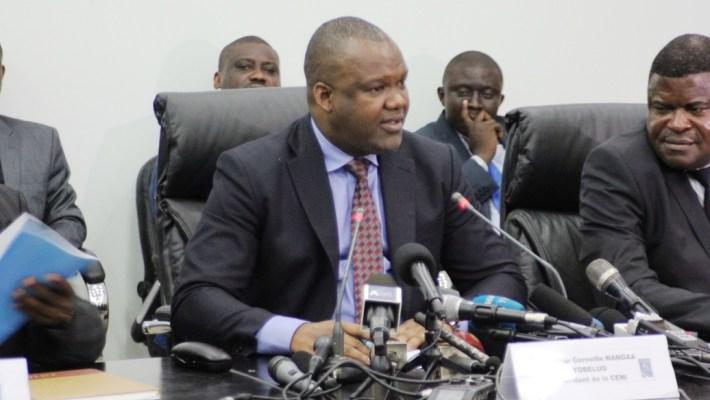 Corneille Naanga: «Les matériels incendiés seront remplacés parce que nous avons un surplus de machines à voter»