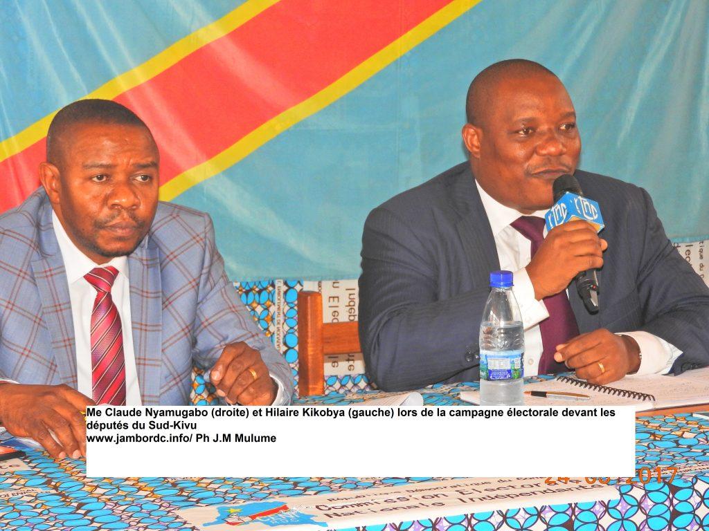 Election 2e tour : Claude Nyamugabo passe gouverneur du Sud-Kivu